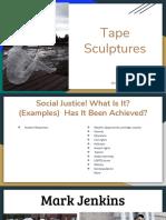 tape sculptures  1
