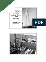 IEM 20130902 PDA Workshop - Stress Integrity Energy and Capacity [Ir. Richard C L Yu]