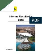 Informe de Resultados OHL 2018