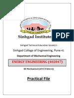 Energy Engg.-lab Manual