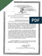 Solenergy Incorporation Documents