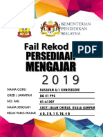 Rekod Persediaan Mengajar 2018 (Designed by Elrine Johini) (1)