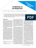 Comparison of Methods to Assess Pigment Dípersion