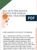 5. Magna Carta for Public School Teachers(1)