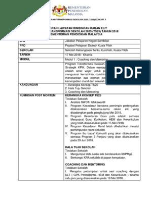 Laporan Ts25 Jpn Docx