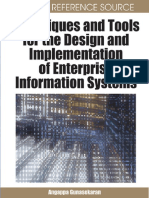 (Advances in Enterprise Information Systems AEIS) Angappa Gunasekaran, Angappa Gunasekaran-Techniques and Tools for the Design and Implementation of Enterprise Information Systems -IGI Global (2008).pdf