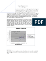 Statistics Regression Project REV a1