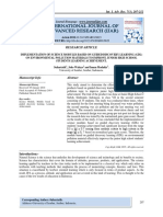 IMPLEMENTATION OF SCIENCE MODULES BASED ON GUIDED DISCOVERY LEARNING (GDL) ON ENVIRONMENTAL POLLUTION MATERIALS TO IMPROVE JUNIOR HIGH SCHOOL STUDENTS LEARNING ACHIEVEMENT.