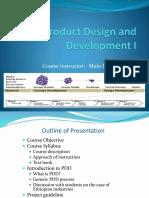 PDD Session 1