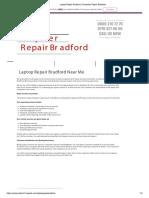 Computer Repairs Bradford