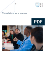Translation as a Career