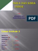 (Sifat Fisika Dan Kimia Unsur Periode 3)