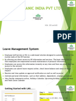 SAP ESS - Leave Management System