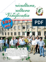 Pomicultura, Viticultura și Vinificația 2015 Nr.4