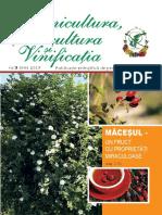 Pomicultura, Viticultura și Vinificația 2017 Nr.3