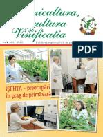 Pomicultura, Viticultura și Vinificația 2016 Nr.1