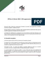 CR V2 CPR Du 11 Février 2019