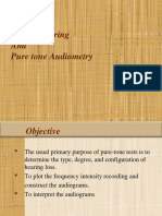 APPROACH TO AUDIOMETRY