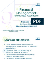 CIPE Financial Management for Business Associations