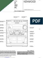 Kenwood RXD 302 A31 Service Manual