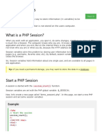 PHP 5 Sessions