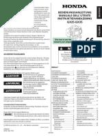 Honda Engine GX-25 and GX-35 Service Manual