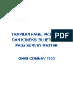 Manual Survei Statik GNSS Comnav T300