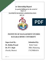 Rohit Summer Internship Report.....