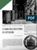 La storia della Cupola di San'Ignazio
