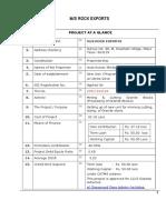 PROJECT REPORT FINAL Rock Export.doc