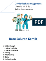 Bedah-update of Urothilliasis Management 2
