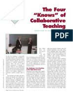 4knowsofcollaborativeteaching