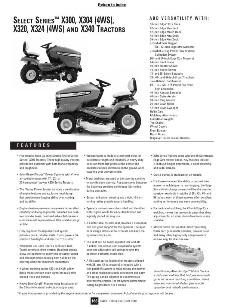 John Deere X300 Transaxle Manual Guide