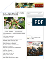 BTS – HOLD ME TIGHT LYRICS (English & Romanized)  KV.pdf