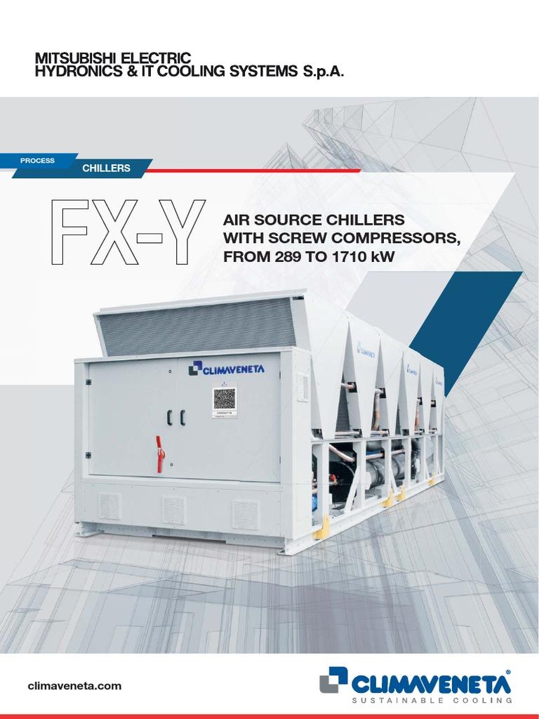Brochures FX Y | Air Conditioning | Heat Exchanger