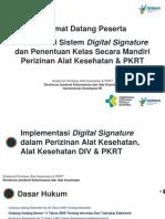 Sosialisasi Digital Signature 221118