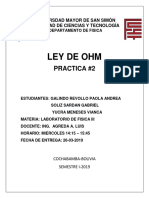 Practica 2 OHM