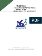 Pedoman Penguatan Kompetensi Bidang Teknis CPNS