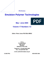 Emulsion Polymerisation