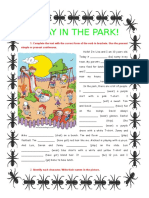 a-day-in-the-park-present-simple-continuous_9006.doc