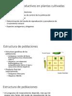 Sistemas Reproductivos EN PLANTAS CULTIVADAS