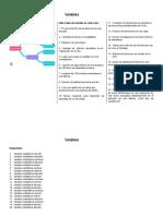 Tipos de Variables Estadísticas Actividad
