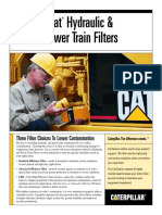 PEHJ0069 - Cat Hydraulic and Power Train Filters