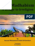 Anti Madhabism A Bridge To Irreligion