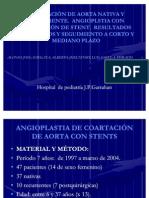 COARTACIÓN DE AORTA NATIVA Y RECURRENTE