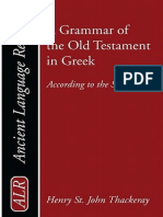 [Ancient Language Resources] H. St J. Thackeray, K. C. Hanson - A Grammar of the Old Testament in Greek_ According to the Septuagint_ Introduction, Orthography, and Accidence Volume 1(1909, Wipf & Stock Publishers.pdf