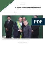 Governo Gostaria Que Vélez Se Antecipasse e Pedisse Demissão _ Blog Do Gerson Camarotti _ G1