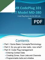 DMR CodePlug Basics