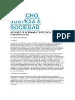 Derecho Cobranza Judicial