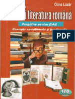 Limba Si Literatura Romana pt BAC